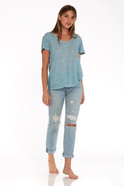Oversize Tee // Blue Bird Oil