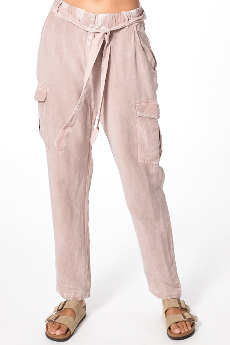 Natalie Pant In Dusty Mauve