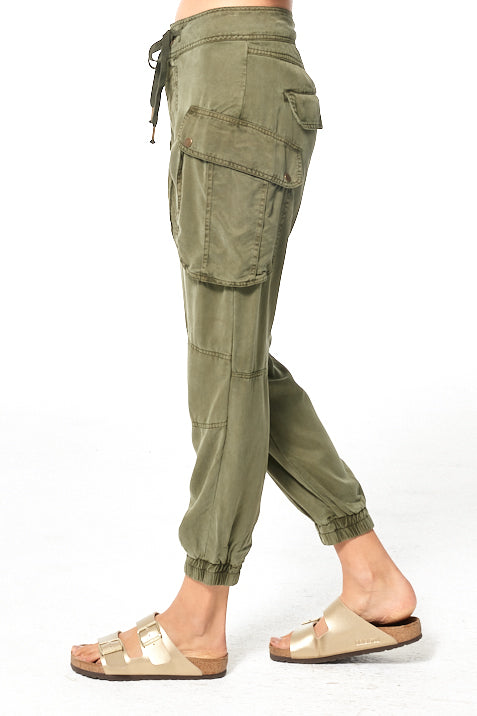 Clyde Cargo Pant // Pine Pigment