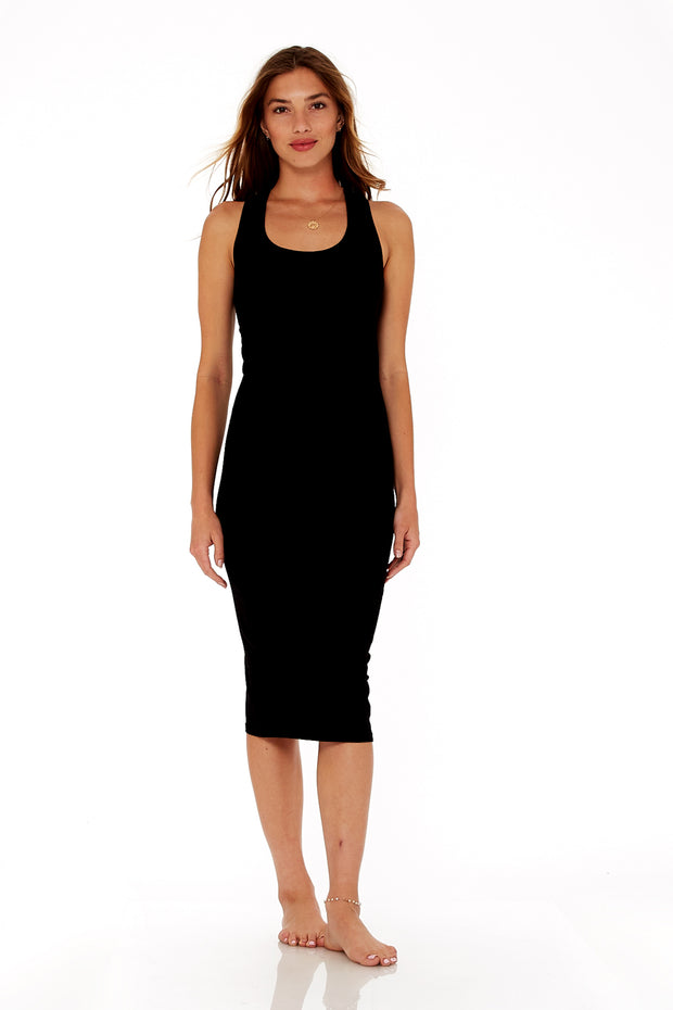 Denny Dress in Black