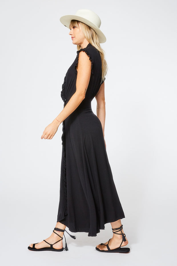 Lluvia Dress in Black