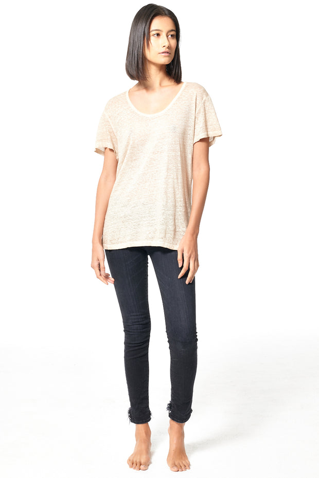 Oversize Tee // Taupe Oil