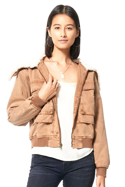 Earhart Jacket // Toffee
