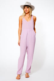 Kiki Jumpsuit in Pansy