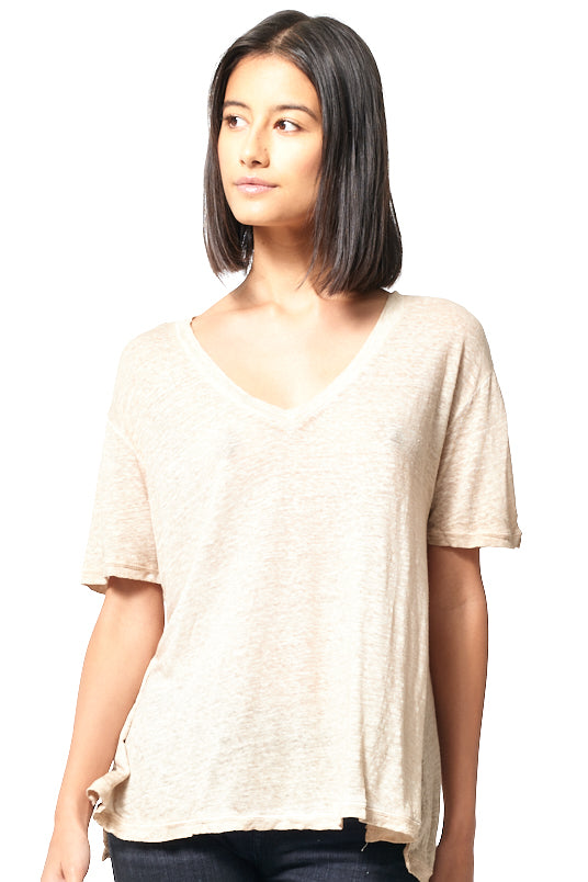 Dilly Tee // Taupe Oil