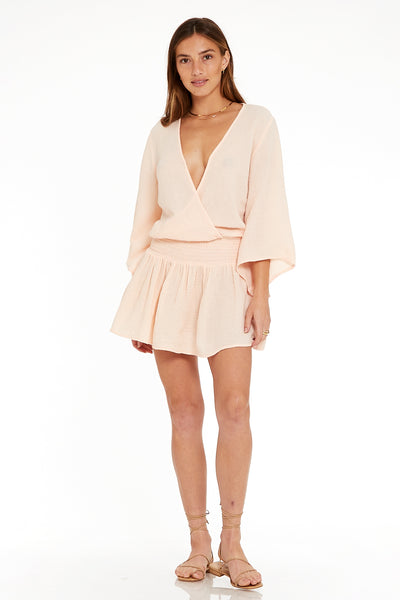 Ellery Dress In Guava