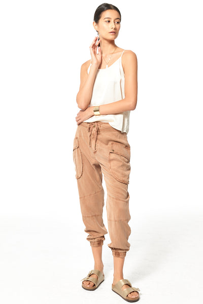 Clyde Cargo Pant // Toffee Pigment