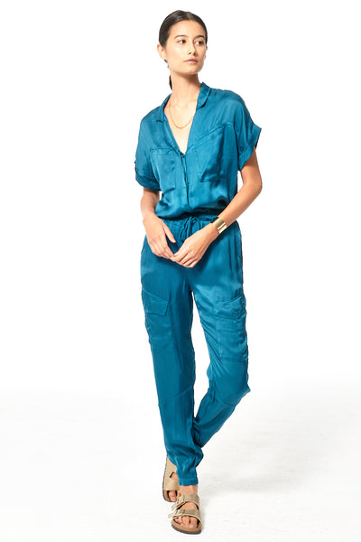 Truman Jumpsuit // Deep Teal