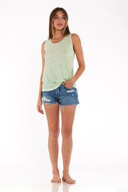 Twister Tank in Spring Sage Oil Wash