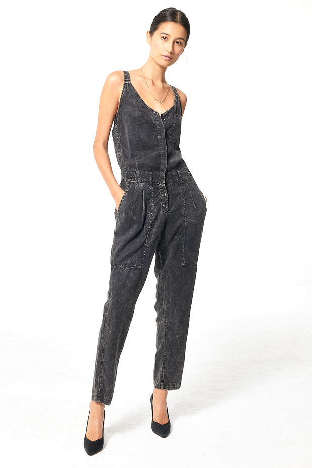 Trixie Jumpsuit // Black Gold Mineral