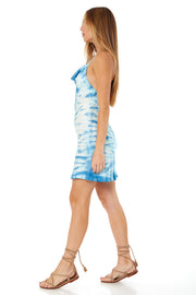 Gigi Slip Dress in Robin Fire Cracker Wash