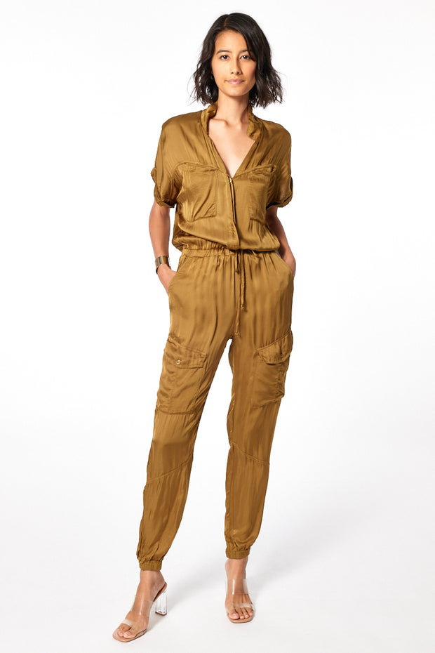 Truman Jumpsuit in Fern
