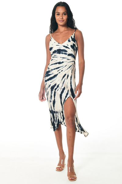 Ciara Dress // Blue Safari