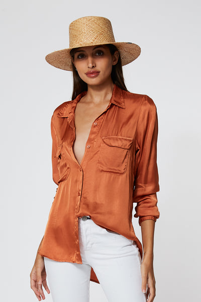 Belle Top In Butternut