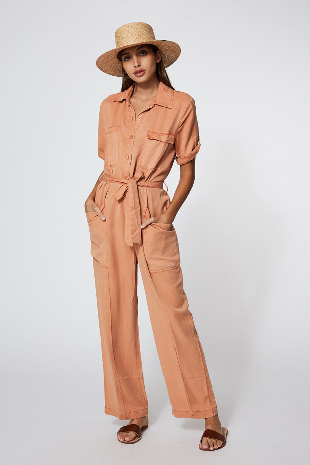 Graylin Jumpsuit In Butternut