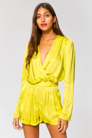 Paris Romper in Zest