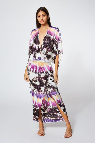 Siren Maxi In Orchid Dominica Wash