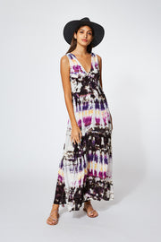 Raquel Dress In Orchid Dominica Wash