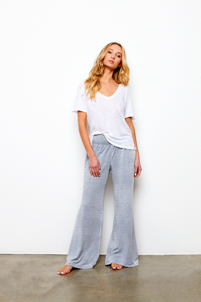 Sydney Pant In Steel Blue