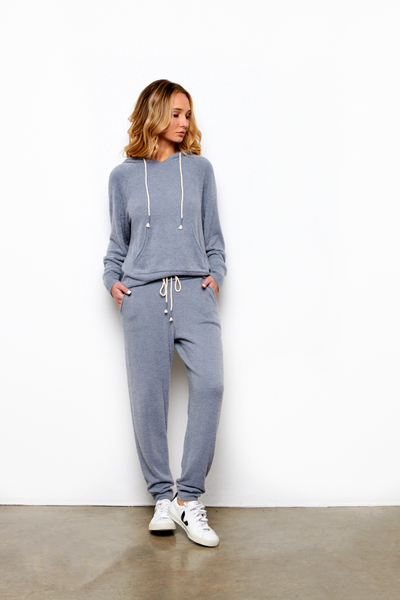 Cozy Pant In Steel Blue