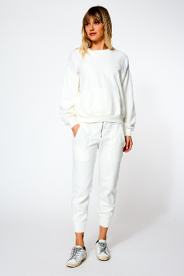 Marni Jogger in Ivory Shell - SAMPLE FINAL SALE