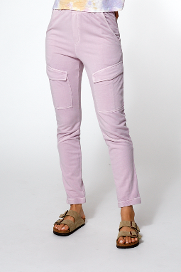 Henry Jogger in Orchid Pigment - SAMPLE FINAL SALE