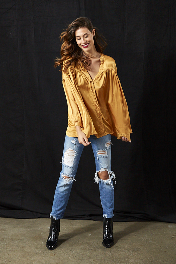 Tress Top In Marigold