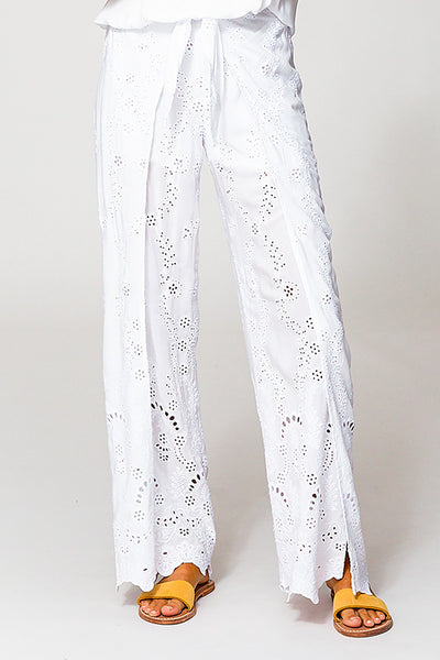 Geneva Pant In White