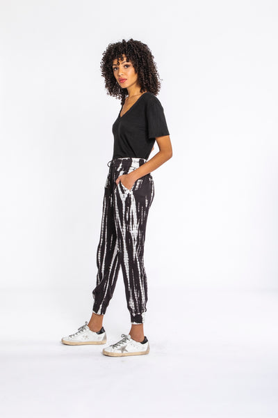 Ollie Pant In Black Bamboo Wash - Final Sale