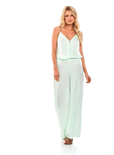 Aiko Pant In Mint Julip