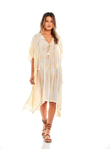 Playa Cover-up in Buttercup River Wash - SAMPLE FINAL SALE