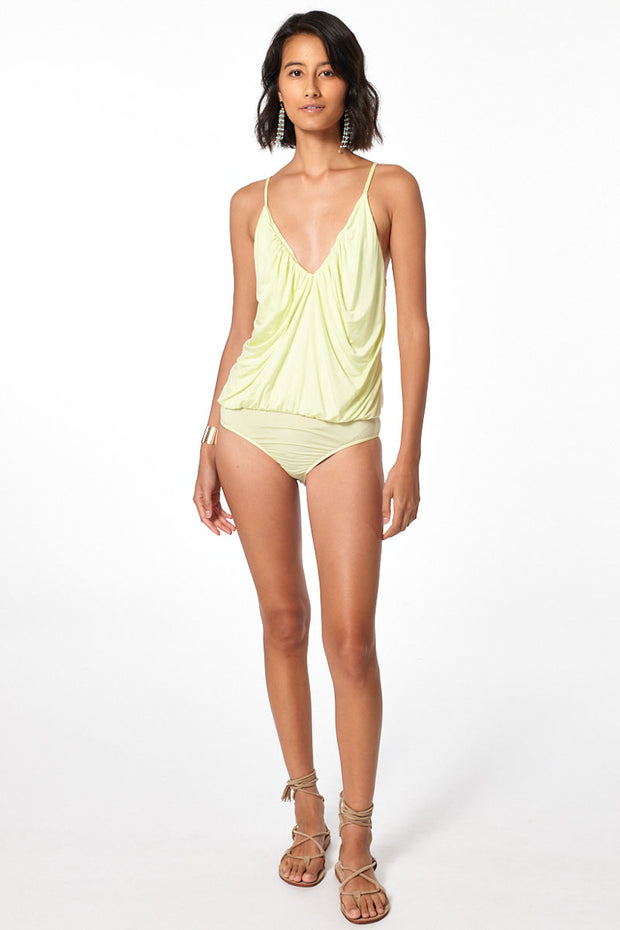 Betty Bodysuit // Soft Neon