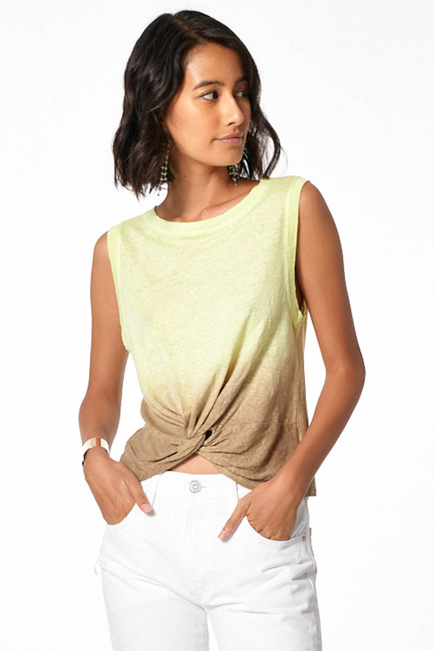 Collins Tank // Soft Neon Ombre