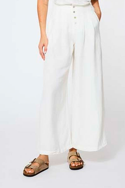 Pim Pant in Ivory Shell