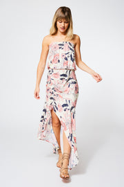 Dreamboat Dress in Ivory Shell Garden Floral