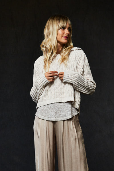 Maelle Sweater In Sand - Final Sale
