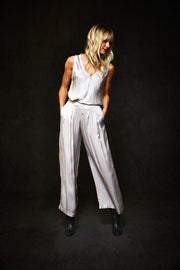 Pim Pant In  Ash - Final Sale