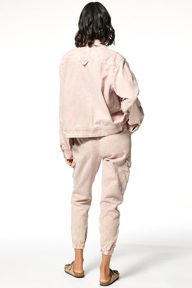 Damon Jacket // Tea Rose Mineral