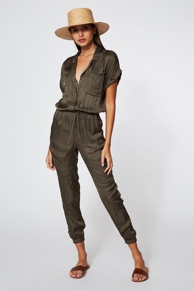 Truman Jumpsuit in Pine