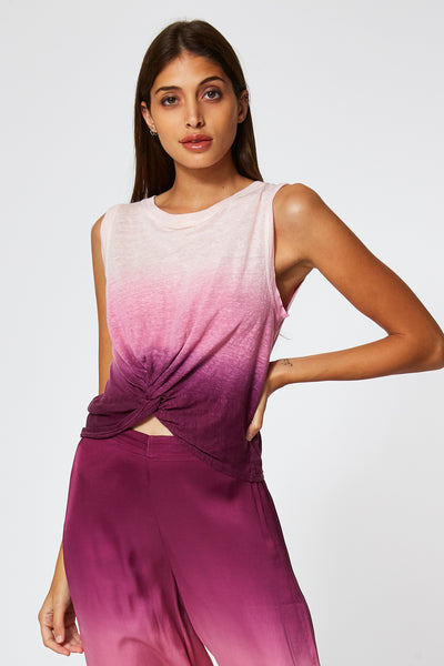 Collins Tank In Berry Ombre