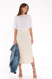 Felicity Skirt in Guava