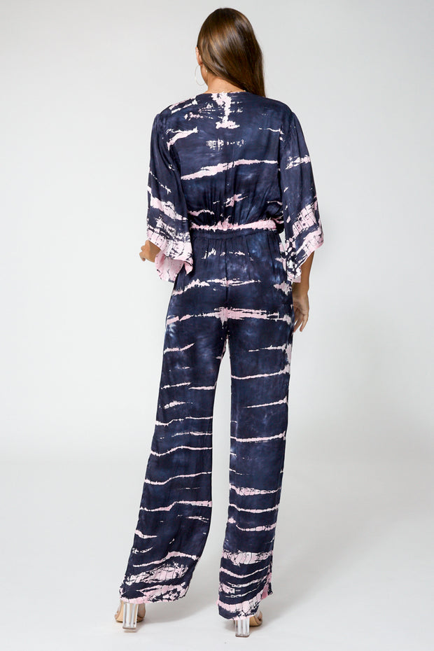 Breezy Jumpsuit In Ink Bamboo