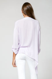 Corinne Blouse In Amethyst