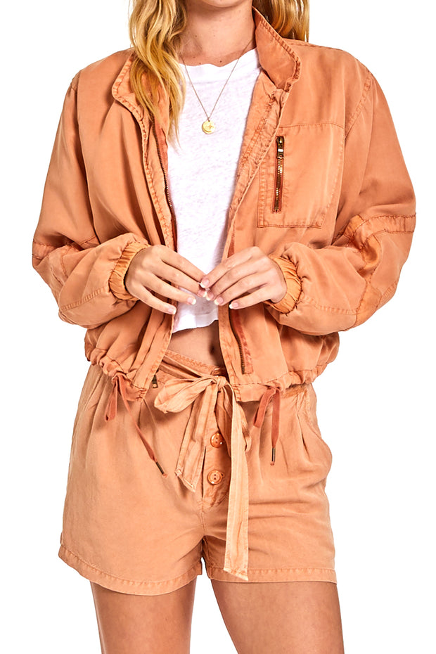 Clara Jacket In Butternut Pigment