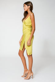 Nova Dress in Zest Solid