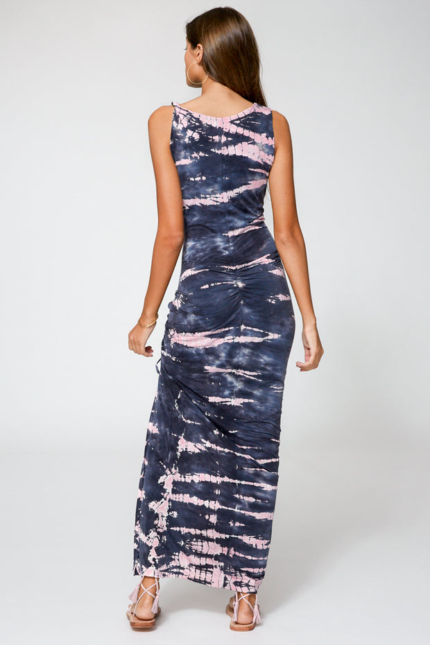 Paige Dress In Ink Bamboo
