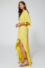 Thea Dress In Zest