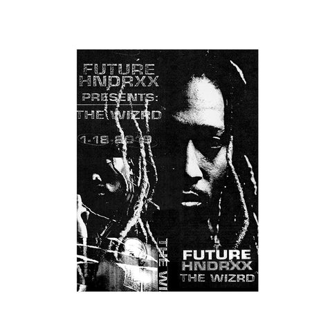 Future HNDRXX The Wizrd Signed Poster + Digital Album