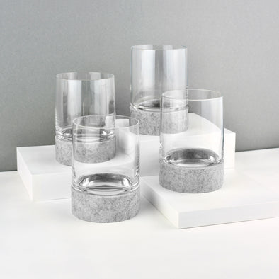 Curve 120 Glasses & Rolocoasters (Set of 4)