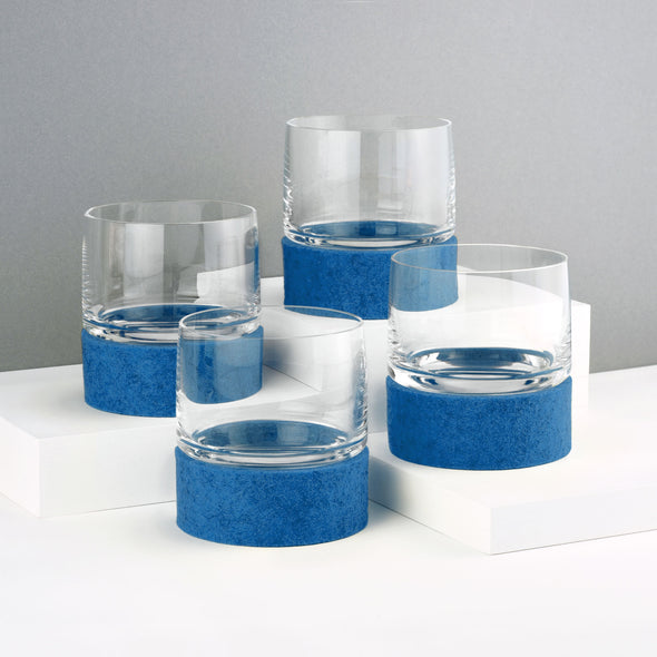 Curve 90 Glasses & Rolocoasters (Set of 4)